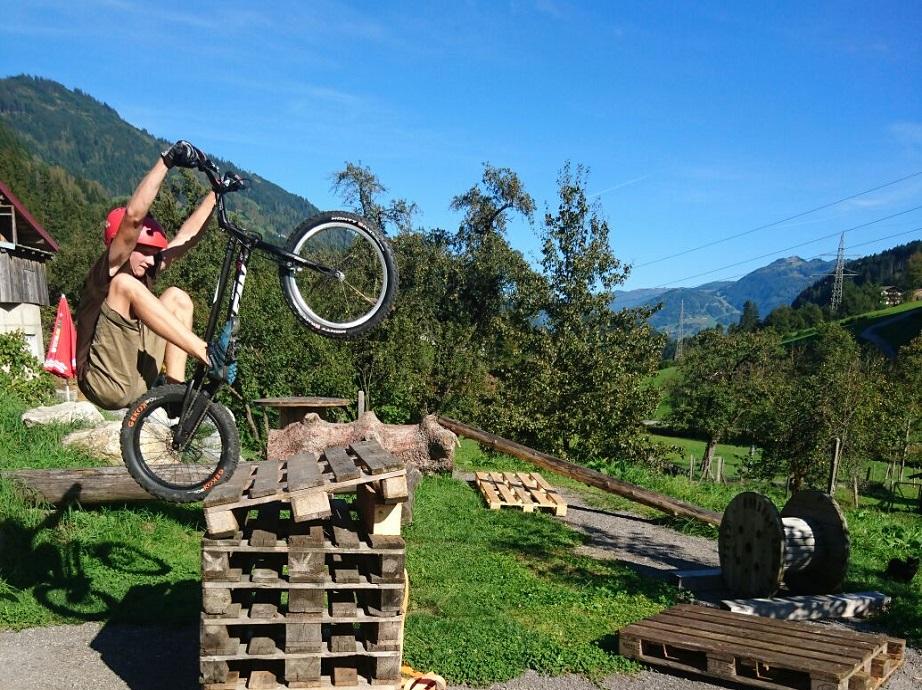 Trial Bike fahren